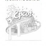 Epcot notebooking cover