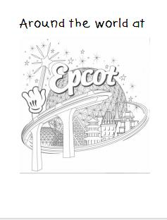 epcot countries coloring pages - photo#2
