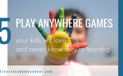 5 Play Anywhere Learning Games
